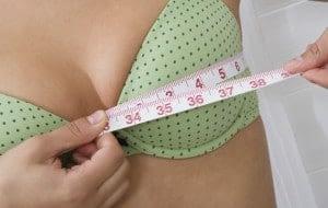 Correct bra size
